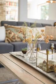 dekoration wohnzimmer tischdeko vase kerzen