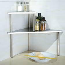 Teak Bathroom Corner Shelves by Cozy Corner Bathroom Organizer Spa Teak Corner Shelf Decorative