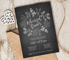 Rustic Wedding Rehearsal Invitation Template By MintyPaperieShop