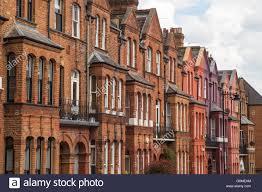 100 Townhouse Facades Exterior Of Victorian Redbrick Townhouse Facades On Baalbec