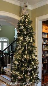 Pre Lit Pencil Slim Christmas Trees by Excellent Ideas Slender Christmas Trees Slim Pre Lit Artificial