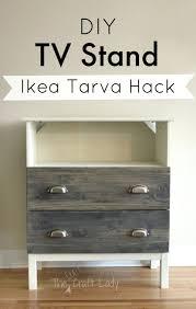 Ikea Tarva 6 Drawer Dresser Hack by Tv Stand Ikea Lack Tv Unit Hack 72 Ikea Tarva Dresser Turned Tv