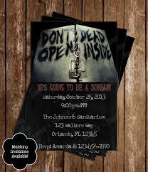 The Walking Dead Pumpkin Stencils Free by Walking Dead Zombie Birthday Party Invitation Walking Dead Party