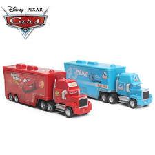 Disney Pixar Cars 2 Toys Lightning McQueen Truck, Toys & Games ...