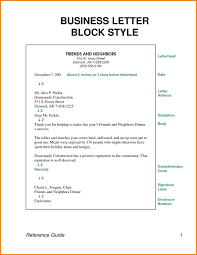 Business letter block format systematic gallery samples – helendearest