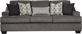 Makonnen Sofa And Loveseat by Gilmer Gunmetal Living Room Set From Ashley Coleman Furniture