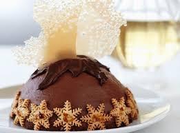 recette de noël parfait au chocolat en dessert