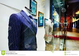 Clothing Shop Window Store Sale Display Fashion Men Clothes