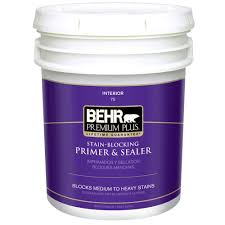 Zinsser Popcorn Ceiling Patch Msds by Behr Premium Plus 5 Gal Interior All In One Primer And Sealer