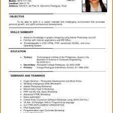 Resume And Job Application Best Of Example For In Malaysia New