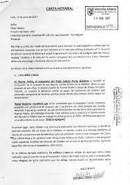 Niega Ser Procurador Del Poder Judicial Diario UNO