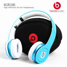 NEW Beats by Dr Dre Solo HD Headband Headphones Blue