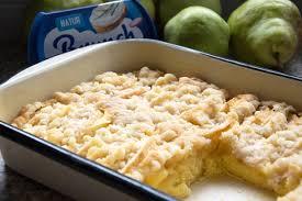 apfel birnenkuchen mit brunch