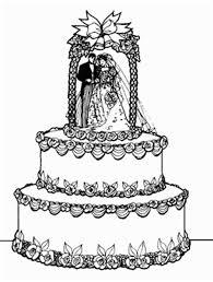 elegant wedding cake clipart for fr by jgm66