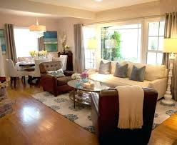 Living Room Dining Combo Small Space Com Luxury Beautiful Chandeliers
