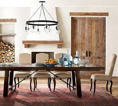Pottery Barn Dining Room Lighting Imaginative Extending Table