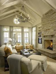 Paint Colors Living Room Vaulted Ceiling by Vaulted Ceiling Living Room Paint Color Black Frame Beige Shag
