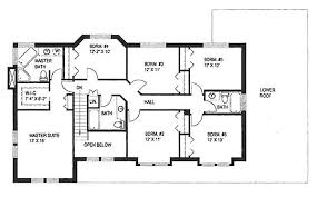 6 Bedroom House Layout