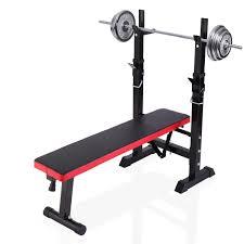 Charles Bentley Adjustable Black Weight Bench Buydirect4u