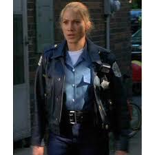 angel eyes women police jacket sharon pogue leather jacket