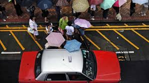 How many damp Hong Kongers can you fit inside a Toyota