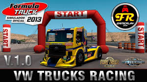 100 Truck Race Games VW S Racing Mod For ETS 2