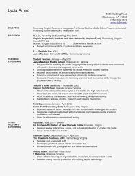 Simple Resume Template Ross School Of Business