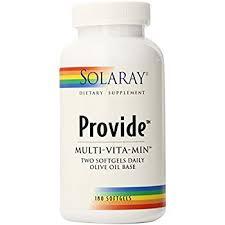 Amazon Solaray Provide Multi Vitamin Capsules 180 Count