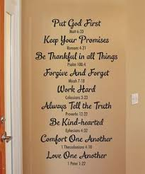 Another Great Find On Bible Family Rules Wall QuotesTM Decal