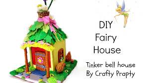 Disney Garden Decor Uk by Diy Fairy House Diy Fairy Garden Diy Tinkerbell House Diy Disney