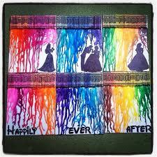 Disney Princess Crayon Art 3