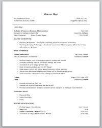 Resume For College Student With No Experience Great Examples Little Sz