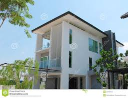 100 Contemporary Bungalow Design Modern 3storey Stock Photo Image Of