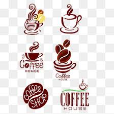 Coffee Logo Cups PNG And Vector