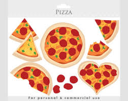 Pizza clipart pizza love clip art slices heart cheese pepperoni