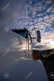 100 Semi Truck Mirrors A Fragment Of A Large White With Windshield And
