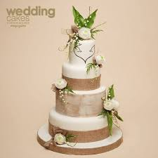 Rustic Wedding Cake Tutorial With Stag And Doe Motif By Liz Finch From The Autumn 2014