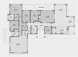 Stunning House Plans With Bedrooms by Rectangular House Plans Home Planning Ideas 2017