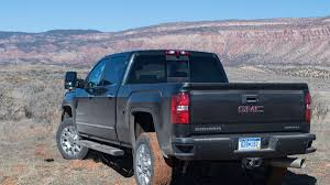 2017 GMC Sierra HD First Drive: It's Got A Ton Of Torque But That's ... Gmc Comparison 2018 Sierra Vs Silverado Medlin Buick 2017 Hd First Drive Its Got A Ton Of Torque But Thats Chevrolet 1500 Double Cab Ltz 2015 Chevy Vs Gmc Trucks Carviewsandreleasedatecom New If You Have Your Own Good Photos 4wd Regular Long Box Sle At Banks Compare Ram Ford F150 Near Lift Or Level Trucksuv The Right Way Readylift 2014 Pickups Recalled For Cylinderdeacvation Issue 19992006 Silveradogmc Bedsides 55 Bed 6 Bulge And Slap Hood Scoops On Heavy Duty Trucks