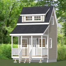 12x12 Shed Plans With Loft by 12x12 Tiny House 12x12h2 260 Sq Ft Houses Pinterest