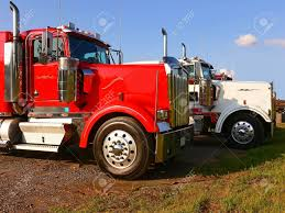 100 Virginia Truck And Trailer Tractor 70096Two Tractor On The Parking Lot Stock