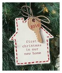MUD PIE OUR FIRST HOME CERAMIC ORNAMENT