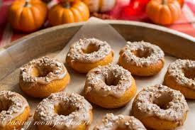Libbys Canned Pumpkin Uk by Pumpkin Doughnuts With Caramel Icing U0026 Toasted Pecans Saving