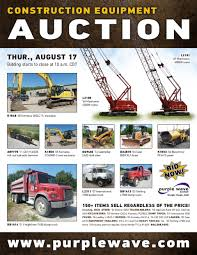 SOLD! August 17 Construction Equipment Auction | PurpleWave, Inc. Trucks For Sale Page 1 Work Big Rigs Mack Box Van Truck N Trailer Magazine 12 Freightliner Used 2013 Kenworth T680 Tandem Axle Sleeper For 3549 Wiley Sanders Lines Troy Al Rays Photos Straight Box Trucks For Sale In Ar Arrow Trucking Terminal Tulsa Ok Best 2018 Kenworth T660 In Illinois On Buyllsearch Ta Service 819 Edwardsville Rd Il 62294 Ypcom Used Dump