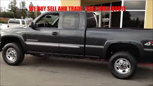 2004 GMC Sierra 2500HD 4x4 SLE 1-Owner WWW.PROTRUCKSPLUS.COM - YouTube