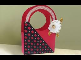 Easy Cute DIY Paper Gift Bag Making At Home