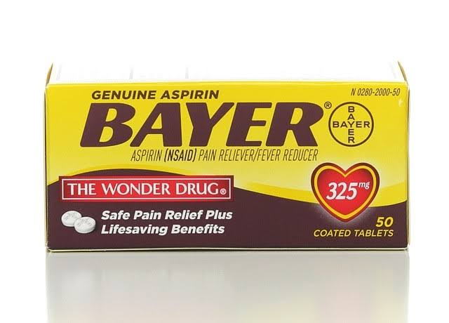 Bayer Genuine Aspirin Tablets