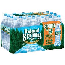 Costco Poland Spring Sport Bottle With Flip Cap Natural Water
