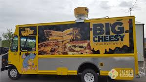 Food Truck Wrap For Big Cheesy - Signs For Success