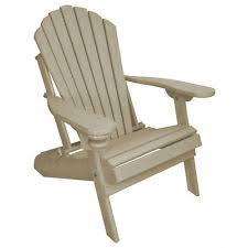 outer banks poly wood adirondack chair with integrated foot rest